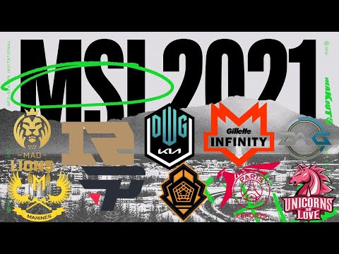 (New) *msi 2021 equipos clasificados* - ¿who will win?