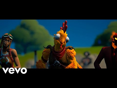 (New) Fortnite - the chicken wing beat - (official fortnite music video) chicken wing it | *new emote!!*