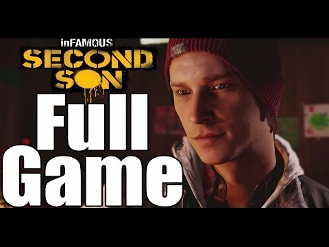 (New) Infamous second son full game walkthrough - no commentary (infamouse second son full game)