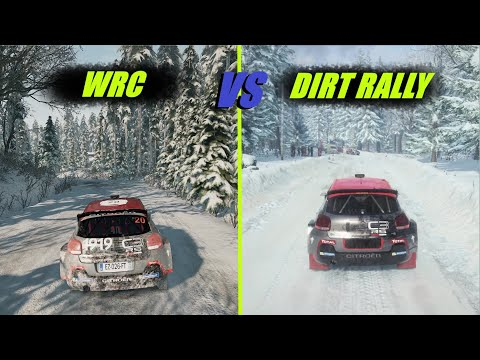 (New) Wrc 9 vs dirt rally 2.0 (graphics e sound)
