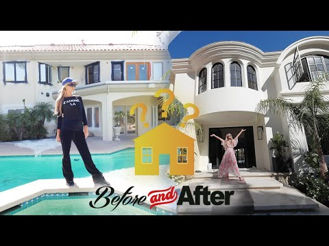 (New) Paris hilton renovates her home - house tour 2020!