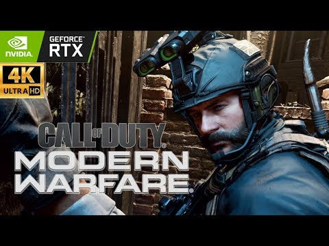 (New) Call of duty: modern warfare - full campaign | realism | ray tracing | ultra pc | 4k | rtx 2080 ti