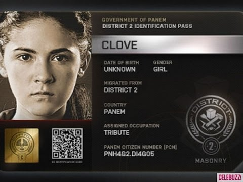 (New) The hunger games - clove (isabelle fuhrman) scenes