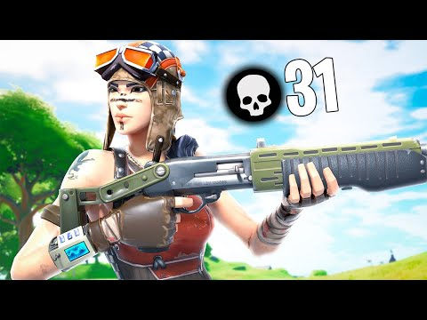 (VFHD Online) 31 kill solo squads on controller! (fortnite chapter 2 season 6)