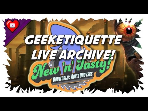 (New) Oddworld new n tasty (pc) #2 | 100% all 299 mudokons | hard difficulty (live archive)