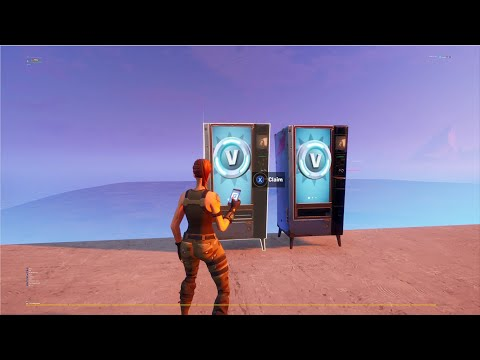 (New) Fortnite glitches how to get the rarest vending machine in creative