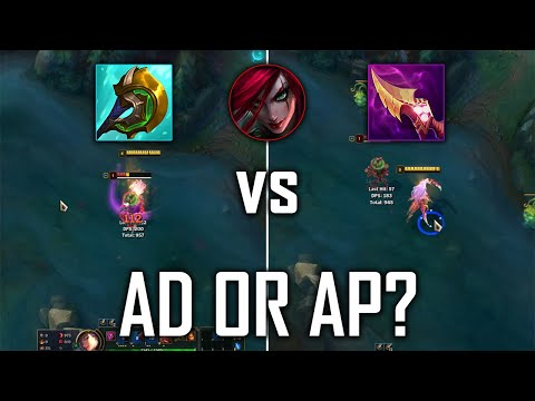 (New) New korean ad katarina build | ad vs ap which is actually better? katarina build update season 11
