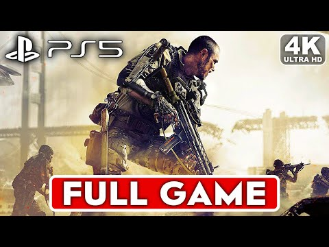 (New) Call of duty advanced warfare ps5 gameplay walkthrough part 1 campaign full game 4k no commentary