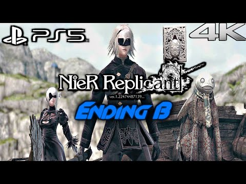 (New) Nier replicant ps5 gameplay walkthrough full game ending b (4k 60fps)
