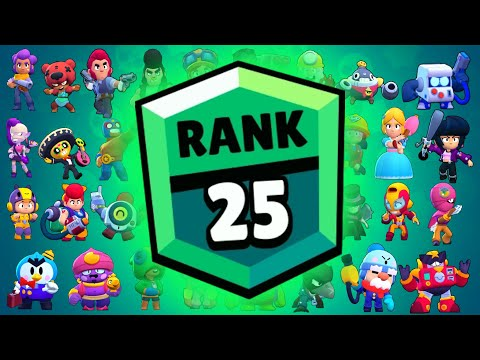 (Ver Filmes) All rank 25 brawlers in one video