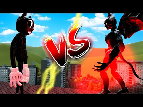 (New) Cartoon cat vs the shin demon in gmod?! (garrys mod gameplay roleplay)