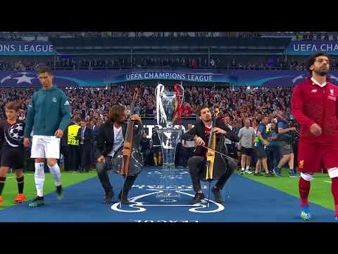 (VFHD Online) 2cellos performance at the 2018 uefa champions league final