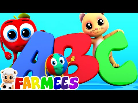 (VFHD Online) The phonics song | alphabets song | nursery rhymes | abc songs by farmees