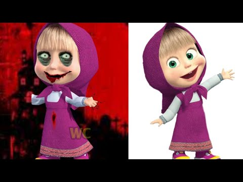 (Ver Filmes) Masha and the bear horror version art 2020 | masha and the bear | ماشا والدب | masha y el oso |masha