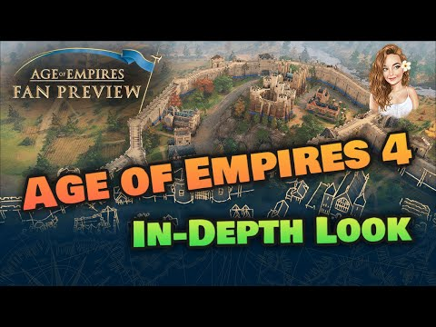 (New) Age of empires 4 in detail ~ new gameplay footage | civilisations | thoughts and more!