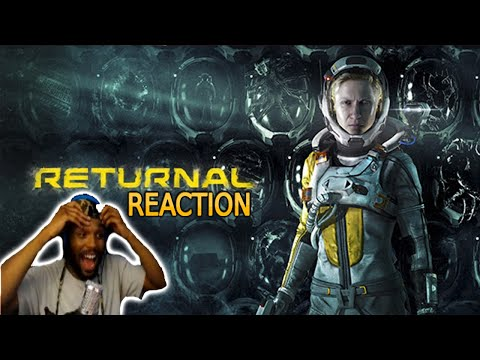 (New) Returnal - official gameplay trailer (reaction) | state of play overview