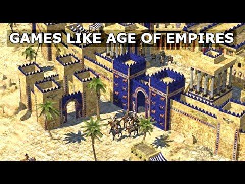(New) Top 10 strategy games! games like age of empires pc