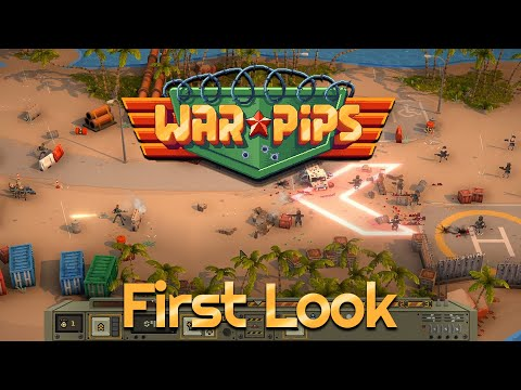 (New) Warpips - first look | tug of war strategy auto-battler