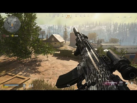 (New) Call of duty warzone: battle royale solo gameplay (no commentary)