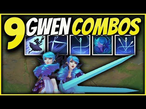 (New) New 9 basic gwen combos that you can easy learn e master | league of legends gwen combo guide