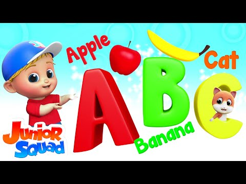 (VFHD Online) Phonics song | abc alphabets songs for kids | nursery rhymes by junior squad