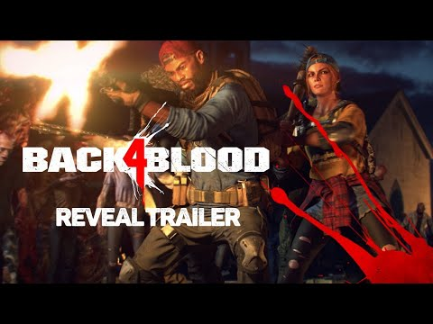 (New) Back 4 blood - full campaign closed alpha gameplay| official reveal trailer