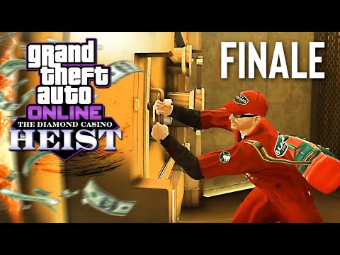 (New) New diamond casino heist, finale! (gta 5 online heists dlc)