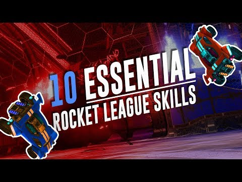 (HD) 10 must-have skills to reach supersonic legend in rocket league! [tutorial]