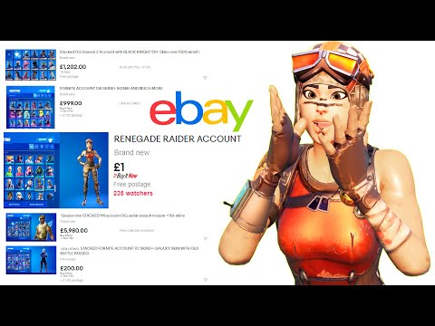 (VFHD Online) I looked for og fortnite accounts on ebay and found this...