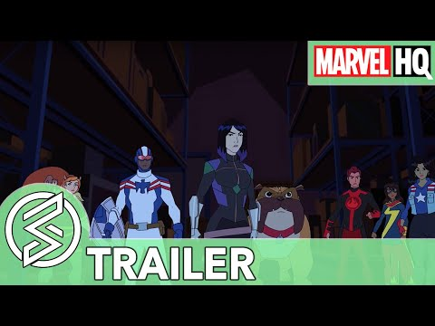 (New) Marvel rising: chasing ghosts | espiadinha