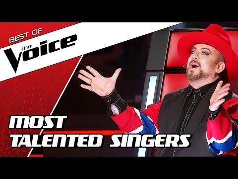 (New) Top 10 | most talented singers in the voice