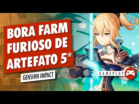 (New) Genshin impact (ps5) - farm de artefato 5* (ar45+)
