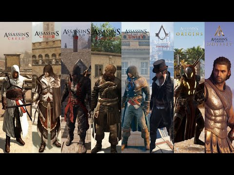 (New) 1 minute of combat from every assassins creed
