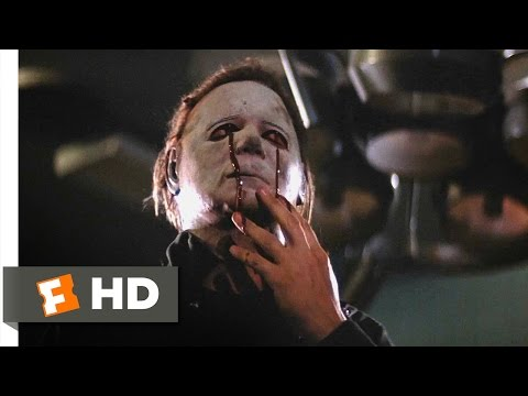 (New) Halloween ii (10 10) movie clip - the death of michael myers (1981) hd