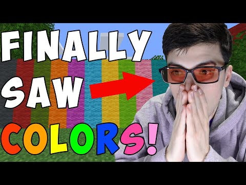 (HD) Minecraft, but im not colorblind anymore...