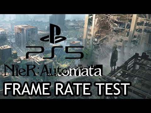 (New) Nier: automata playstation 5 frame rate test (backwards compatibility)