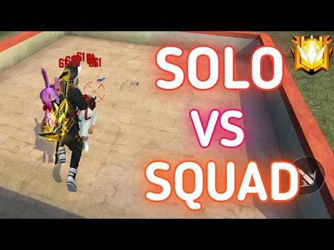(New) Solo vs squad full rush gameplay on grandmaster 12000+ rank points || ft. the unbeatable player !!!!