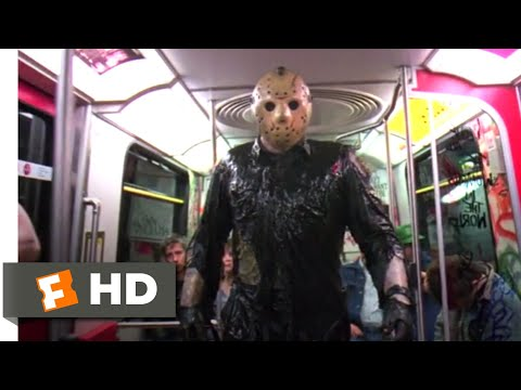 (Ver Filmes) Friday the 13th: jason takes manhattan (1989) - subway chase scene (8 10) | movieclips