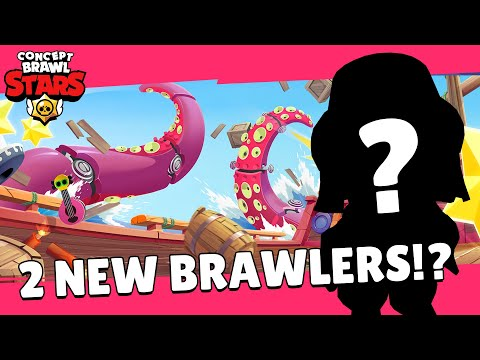 (New) Brawl stars: brawl talk! two new brawlers, new box, new icon, and more! - concept edit!