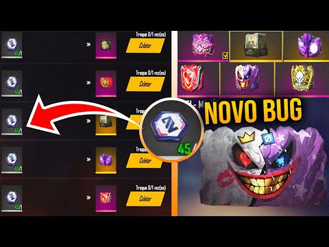 (HD) Exclusivo! bug do token hexágono branco infinito no freefire pegue todas as skin de gelo de *graça*