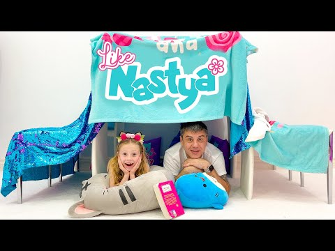 (Ver Filmes) Nastya and her dad are playing without toys