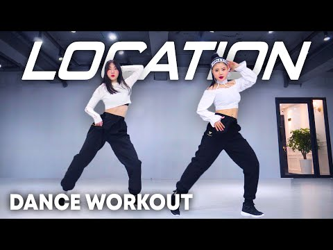 (New) [dance workout] karol g, anuel aa, j. balvin - location | mylee cardio dance workout, dance fitness