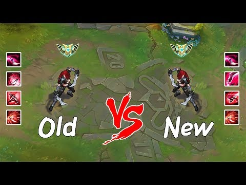 (New) Old katarina vs. new katarina