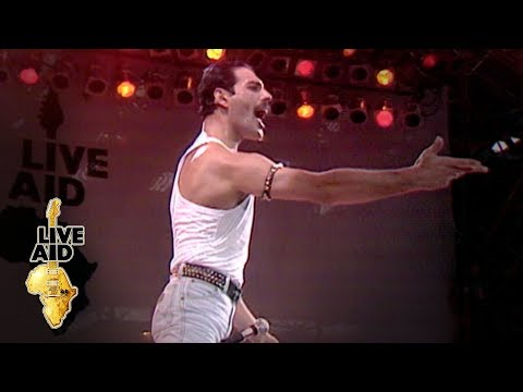 (New) Queen - hammer to fall (live aid 1985)