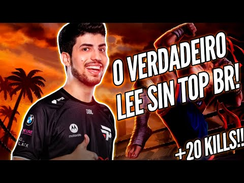 (New) Lee sin top do robo calou a soloq europeia! pain no msi!
