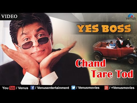 (HD) Chand tare tod full video song | yes boss | shahrukh khan, juhi chawla | abhijeet - bollywood song