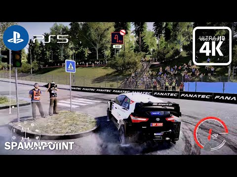 (New) Wrc 9 finland gameplay | toyota yaris (ps5) 4k 60fps hdr