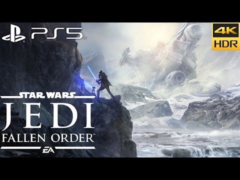 (New) Star wars jedi: fallen order (ps5) 4k hdr gameplay [backwards compatibility]