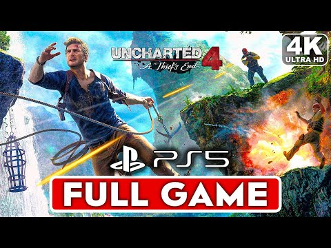 (New) Uncharted 4 ps5 gameplay walkthrough part 1 full game [4k ultra hd] - no commentary