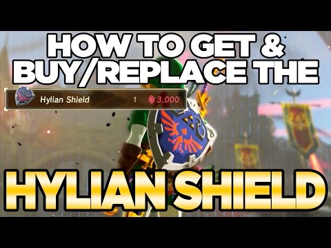 (New) How to get   buy the hylian shield in breath of the wild